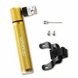 MOSONTH Mini Bike Pump, Portable Pocket Bike Pump Fits Prest