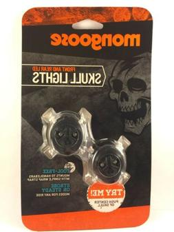Schwinn Mongoose Skull Lights, Black set of LED front rear l
