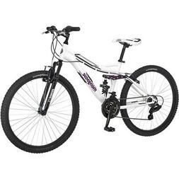 "Mongoose Women's Mountain Bike 26"" Ladies Bicycle Aluminum F"