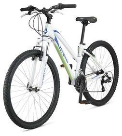 "Mongoose Women's Montana Comp 27.5"" Wheel, White, 16""/Small"