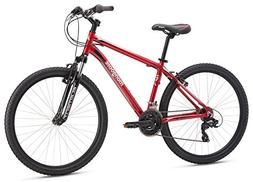 "Mongoose Men's Montana Comp 27.5"" Wheel, Red, 16 inch/Large"