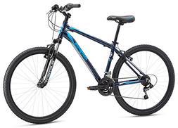 "Mongoose Men's Montana Sport 27.5"" Wheel, Navy, 20 inch / Sm"