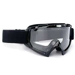 SPOSUNE Motorcycle Goggles, ATV Dirt Bike Off Road Racing MX