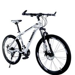 "Yeahmol Mountain Bike 21 Speed Double Disc Brakes 26"" Variab"