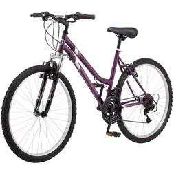 "Purple 26/"" Women/'s Roadmaster Granite Peak 18-Speed Mountain Bike"