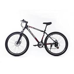 ZOYO Mountain Bike 27.5'' Men's Bicycle Black Shimano 21 Spe
