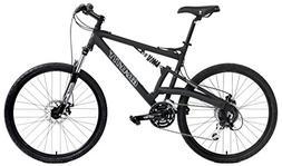 EUROBIKE G4 Mountain Bike 26 Inches 3 Spoke Wheels Dual Susp