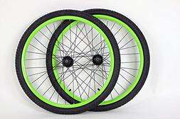 26 inch Mountain Bike Bicycle Wheels for Disc or Rim Brakes