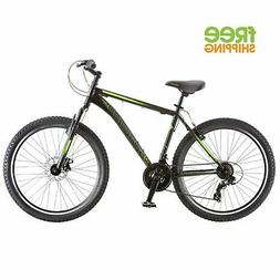 "Schwinn Mountain Bike Black 26"" 21 Speed Disc Brake Shimano"