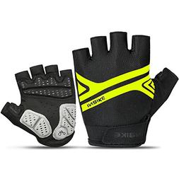 INBIKE Mountain Bike Gloves, Cycling Gloves Half Fingers MTB