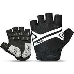 INBIKE Mountain Bike Gloves, Cycling Gloves Half Fingers MTB