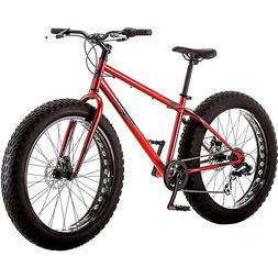 """26"""" Men Mountain Bike 7-Speed Mongoose Hitch BIG FAT TIRE DI"""