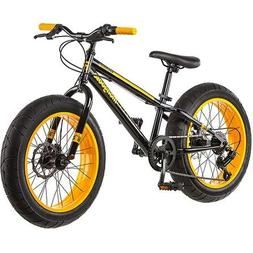 Mountain Bike Mongoose 20 Inch All Terrain Fat Tire Sleek Lo