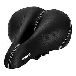 Comfortable Mountain Road Bike Seat - C10 Wide Leather Exerc