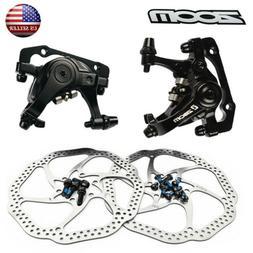 MTB Bike Mechanical Disc Brake Front Rear Caliper 140/160/18