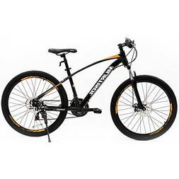 Uenjoy Murtisol 26'' 21 Speed Mountain Bike with Steel F