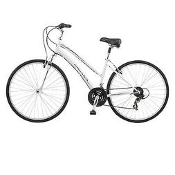 Schwinn Network 1.0 700c Womens Hybrid Bike,17-Inch/Small,Wh