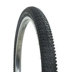"NEW! Wanda 24"" x 1.95"" Bicycle Tire All Black BMX Beach Crui"