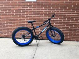 "26"" Mongoose Dolomite Fat Tire Men's 7-speed Mountain Bike S"