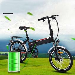 New Alloy Bicycle Electric Road Bike Folding Mountain