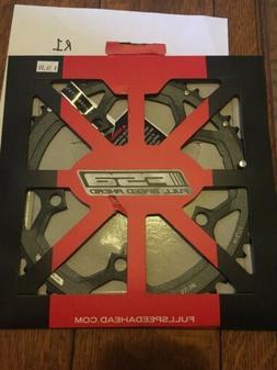 New FSA Pro Road Chainring N-11 130 x 53t Black R1