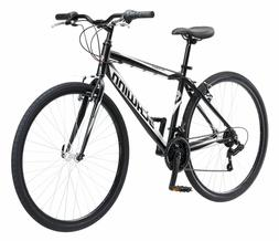 NEW SCHWINN HYBRID BIKE Black 700C Men's Cruiser Alloy Fra