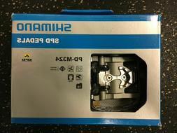 New In Box SHIMANO SPD Clipless/Clip PEDALS Pd-M324