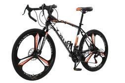New Mens sports Out Door Road Bike Disc Brakes 21 Speed Bicy