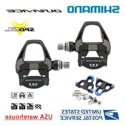 NEW Shimano Dura Ace PD-R9100 Carbon SPD-SL Road Bike Pedals