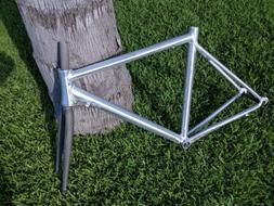 NEW Caribou Ultralight Unpainted Aluminum Road Bike Frame 5