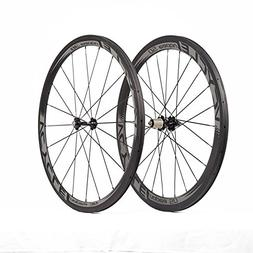 VCYCLE Nopea 700C Road Bike Carbon Wheelset Clincher Front 3