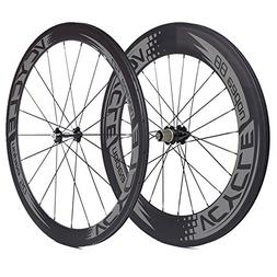 VCYCLE Nopea 700C Road Bike Carbon Wheel Clincher Front 50mm