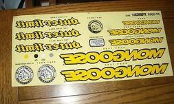 NOS BMX Mongoose Outer Limit Bicycle Sticker Set