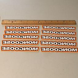 NOS Mongoose Decal/sticker  Pack- Old School Bmx