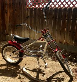 Schwinn OCC limited Chrome Chopper bike w flames 1st Edition