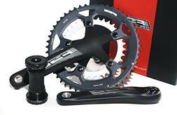 FSA Omega Road Bike Compact Crankset + MegaExo BB 170mm N10/
