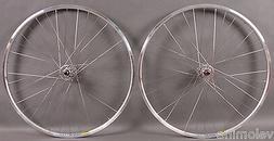 Mavic Open Pro Silver Rims Track Bike Wheels SingleSpeed Whe