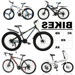 Outroad Mountain Bike Road Bikes Folding/not Double Disc Bra