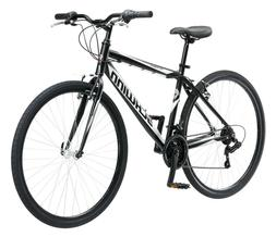 Schwinn Mens Bike 18 Speed 700C Wheels Hybrid Road Bicycle C