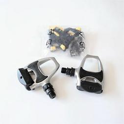 New Shimano PD-R540 SPD-SL Road Bike Pedals Silver Clipless