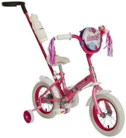 petunia girl s steerable bike with training