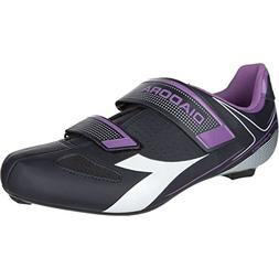 Diadora Phantom II Cycling Shoes - Women's Dk Smoke/White/Vi
