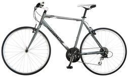 Schwinn Men's Phocus 1500 700C Flat Bar Road Bicycle, Silver
