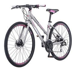 Schwinn Phocus 1500 Flat Bar Road Women's Road Bike, 17""