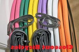 "Pick Any! 2-Pack Duro 27x1-1/4"" Road Bike Tires Tubes & Rim"