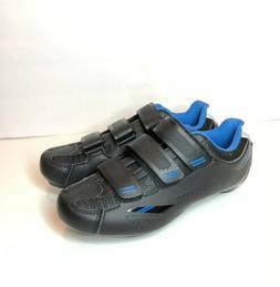 Tommaso Pista Road Bike Cycling Road Shoe Black/Blue Size US