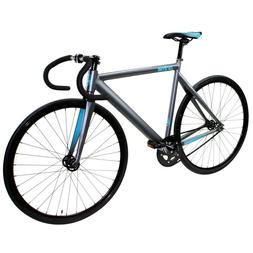 Zycle Fix Prime Alloy Track 700c Road Bike Bicycle Grey Cele