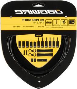 Jagwire Pro 2x Shift Kit Road/Mountain SRAM/Shimano, Black