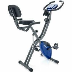 Pro Foldable Stationary Upright&Recumbent Exercise Bike Card