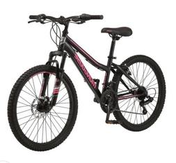 Mongoose R1769WM 24 inch Excursion Mountain Bike - Black